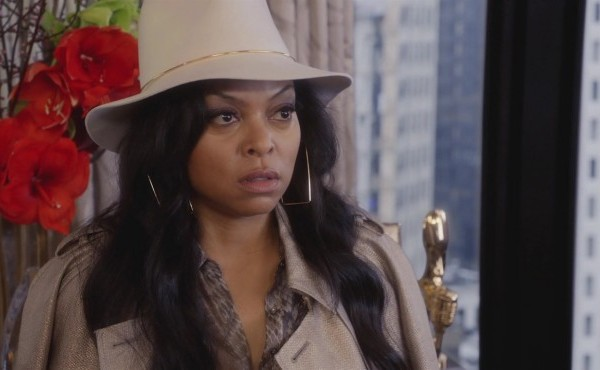 Cookie sports a snazzy hat and serious facial expression on Empire.