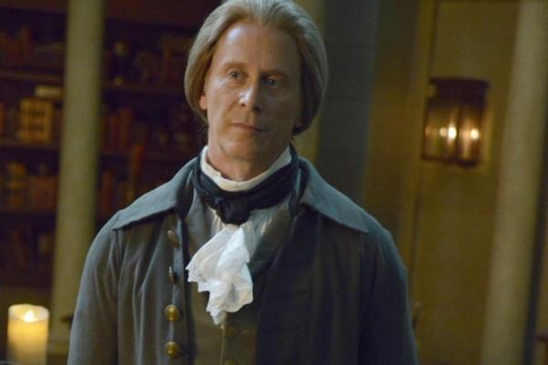 Steven Weber as Thomas Jefferson on Sleepy Hollow