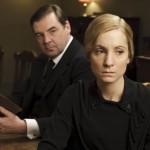 John and Anna Bates look upset