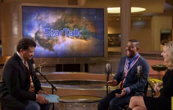 StarTalk TV Neil deGrasse Tyson with Chuck Nice and Helen Fisher