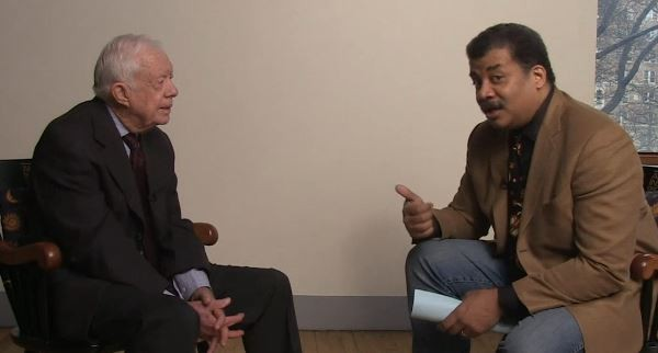 39th President of the United States Jimmy Cater is featured on StarTalk with Neil deGrasse Tyson