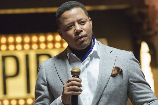 Lucious prepares the crowd to open their checkbooks on Empire.