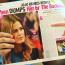 A photo of Bachelorette JoJo in a tabloid magazine
