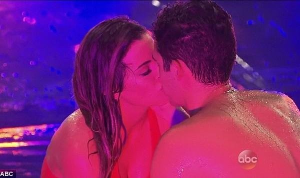 Wells and JoJo kiss on The Bachelorette