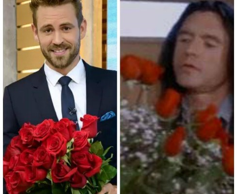 Nick Viall on the Bachelor and Tommy Wiseau in The Room